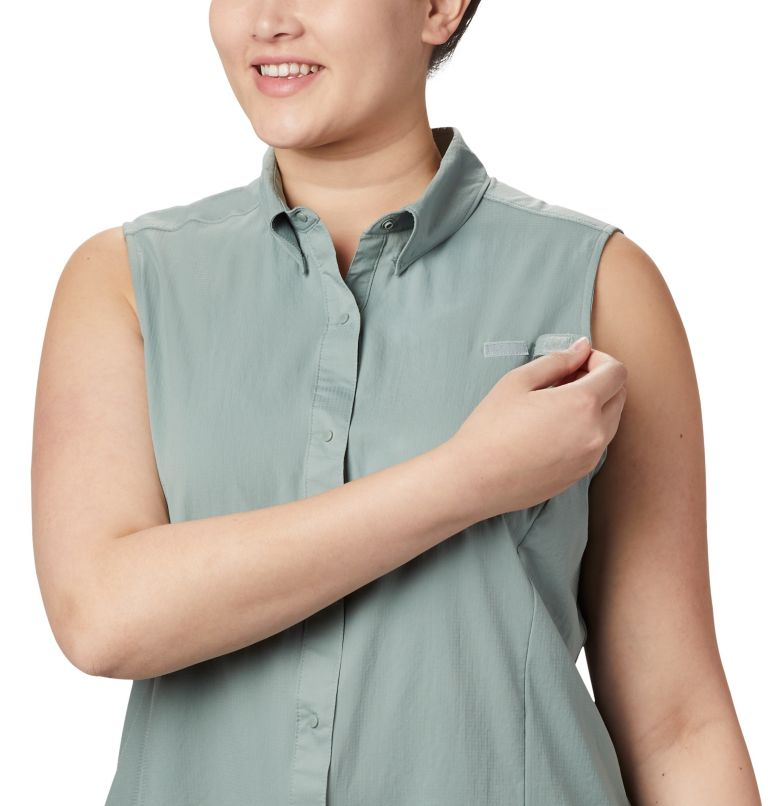 Women's PFG Tamiami™ Sleeveless Shirt - Plus Size Women's PFG Tamiami™ Sleeveless Shirt - Plus Size, a2