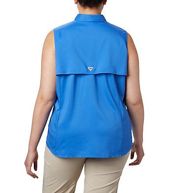 Women's PFG Tamiami™ Sleeveless Shirt - Plus Size Tamiami™ Women's Sleeveless Shirt | 305 | 2X, Stormy Blue, back