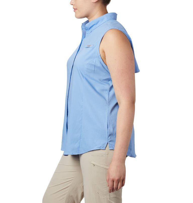 Tamiami™ Women's Sleeveless Shirt | 450 | 1X Women's PFG Tamiami™ Sleeveless Shirt - Plus Size, White Cap, a1