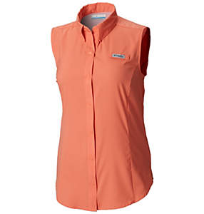 Women's PFG Tamiami™ Sleeveless Shirt – Plus Size