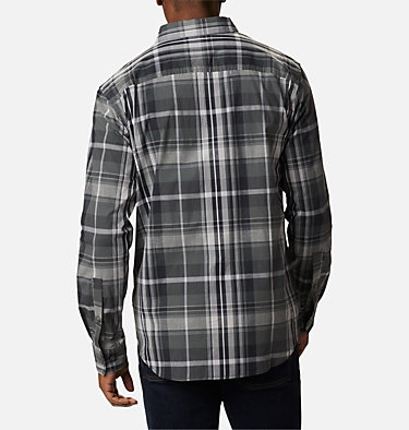 Men's Rapid Rivers™ II Long Sleeve Shirt Rapid Rivers™ II Long Sleeve Shirt | 847 | M, Grill Oversize Plaid, back