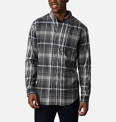 Men's Rapid Rivers™ II Long Sleeve Shirt Rapid Rivers™ II Long Sleeve Shirt | 847 | M, Grill Oversize Plaid, front