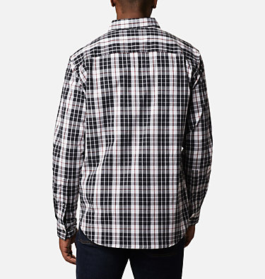 Men's Rapid Rivers™ II Long Sleeve Shirt Rapid Rivers™ II Long Sleeve Shirt | 847 | M, White Traditional Plaid, back