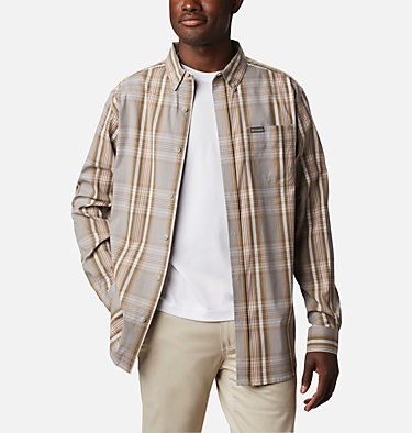 Men's Rapid Rivers™ II Long Sleeve Shirt Rapid Rivers™ II Long Sleeve Shirt | 847 | M, Delta Multi Plaid, front