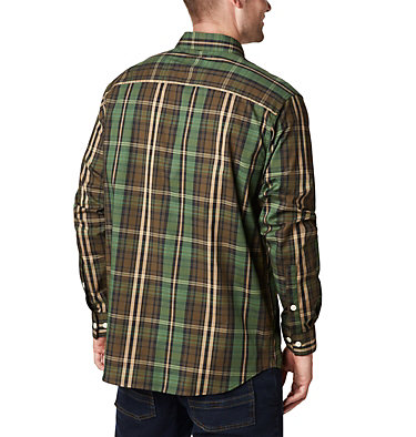 Men's Rapid Rivers™ II Long Sleeve Shirt Rapid Rivers™ II Long Sleeve Shirt | 847 | M, Green Multi Plaid, back