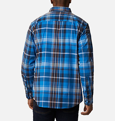 Men's Rapid Rivers™ II Long Sleeve Shirt Rapid Rivers™ II Long Sleeve Shirt | 847 | M, Bright Indigo Oversize Plaid, back