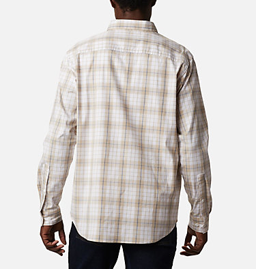 Men's Rapid Rivers™ II Long Sleeve Shirt Rapid Rivers™ II Long Sleeve Shirt | 847 | M, Bluestone Traditional Plaid, back