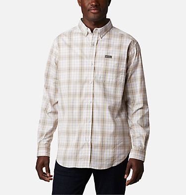 Men's Rapid Rivers™ II Long Sleeve Shirt Rapid Rivers™ II Long Sleeve Shirt | 847 | M, Bluestone Traditional Plaid, front