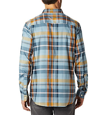 Men's Rapid Rivers™ II Long Sleeve Shirt Rapid Rivers™ II Long Sleeve Shirt | 847 | M, Storm Plaid, back