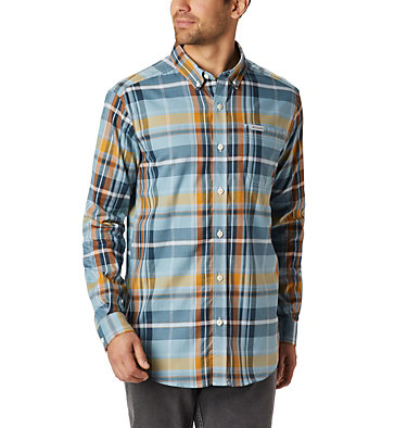 Men's Rapid Rivers™ II Long Sleeve Shirt Rapid Rivers™ II Long Sleeve Shirt | 847 | M, Storm Plaid, front