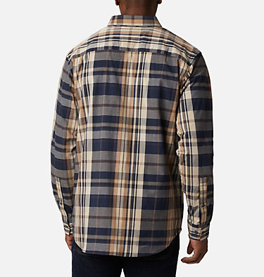 Men's Rapid Rivers™ II Long Sleeve Shirt Rapid Rivers™ II Long Sleeve Shirt | 847 | M, Collegiate Navy Oversize Plaid, back