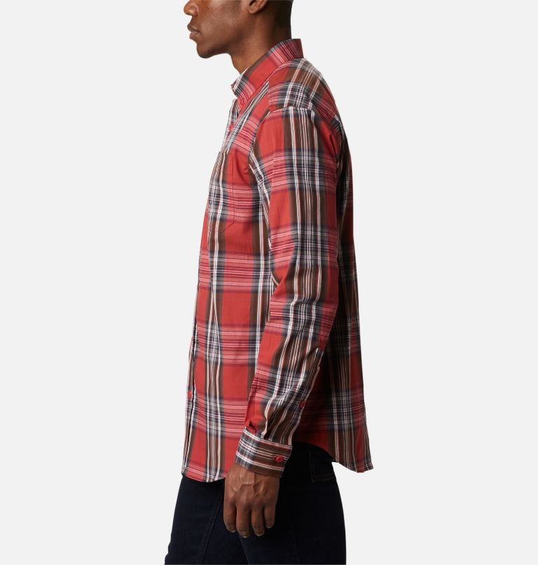 Rapid Rivers™ II Long Sleeve Shirt | 614 | L Men's Rapid Rivers™ II Long Sleeve Shirt, Mountain Red Multi Plaid, a1