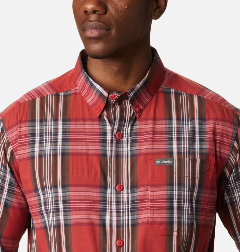 Rapid Rivers™ II Long Sleeve Shirt | 614 | L Men's Rapid Rivers™ II Long Sleeve Shirt, Mountain Red Multi Plaid, a2