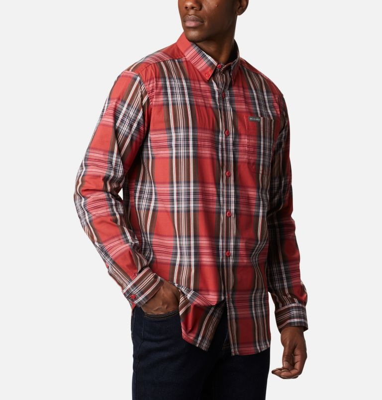 Rapid Rivers™ II Long Sleeve Shirt | 614 | L Men's Rapid Rivers™ II Long Sleeve Shirt, Mountain Red Multi Plaid, a3