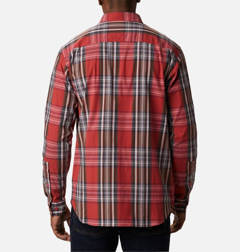Rapid Rivers™ II Long Sleeve Shirt | 614 | L Men's Rapid Rivers™ II Long Sleeve Shirt, Mountain Red Multi Plaid, back