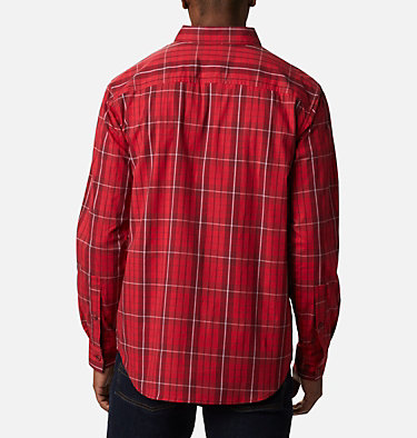 Men's Rapid Rivers™ II Long Sleeve Shirt Rapid Rivers™ II Long Sleeve Shirt | 847 | M, Red Jasper Traditional Plaid, back