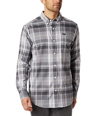 Chemise à manches longues Rapid Rivers™ II pour homme - grandes tailles Rapid Rivers™ II Long Sleeve Shirt | 614 | 2X, City Grey Plaid, front