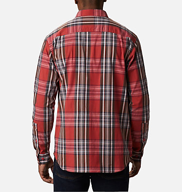 Chemise à manches longues Rapid Rivers™ II pour homme - grandes tailles Rapid Rivers™ II Long Sleeve Shirt | 614 | 2X, Mountain Red Multi Plaid, back