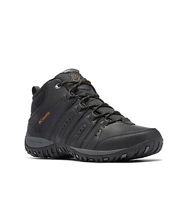 Men's Woodburn™ II Waterproof Omni-Heat™ Boot WOODBURN™ II CHUKKA WP OMNI-HE | 010 | 10, Black, Goldenrod, 3/4 front
