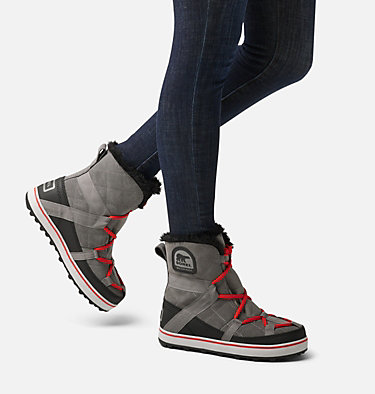 Bota Glacy Explorer™ para mujer GLACY™ EXPLORER SHORTIE | 054 | 10, Quarry, video
