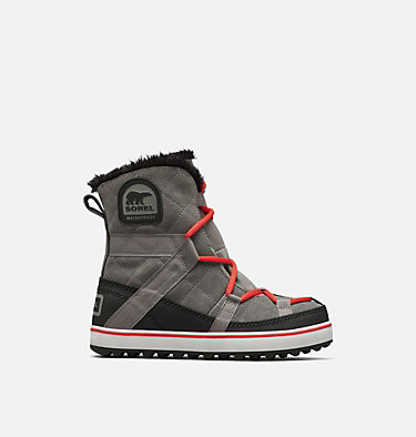 Women's Glacy Explorer™ Shortie Boot GLACY™ EXPLORER SHORTIE | 053 | 5.5, Quarry, front