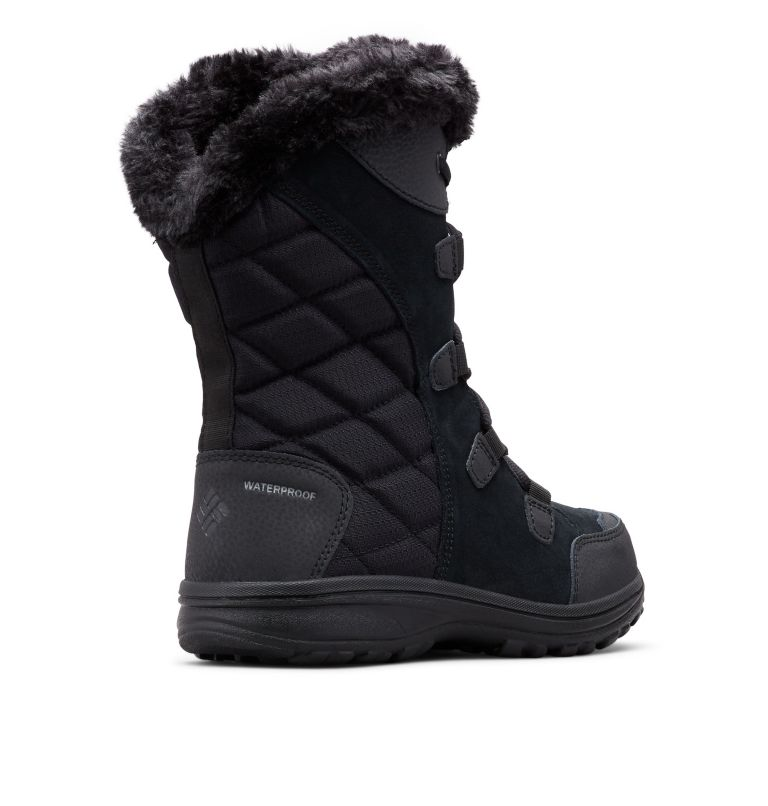 ICE MAIDEN™ II | 011 | 6 Women's Ice Maiden™ II Boot, Black, Columbia Grey, 3/4 back