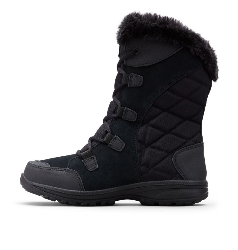 ICE MAIDEN™ II | 011 | 6 Women's Ice Maiden™ II Boot, Black, Columbia Grey, medial