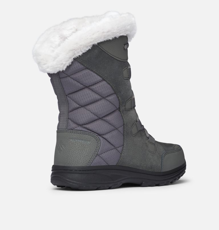 ICE MAIDEN™ II | 051 | 9 Women's Ice Maiden™ II Boot, Shale, Dark Raspberry, 3/4 back