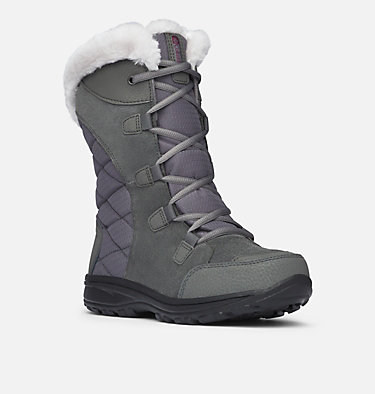 Women's Ice Maiden™ II Boot ICE MAIDEN™ II | 053 | 10, Shale, Dark Raspberry, 3/4 front