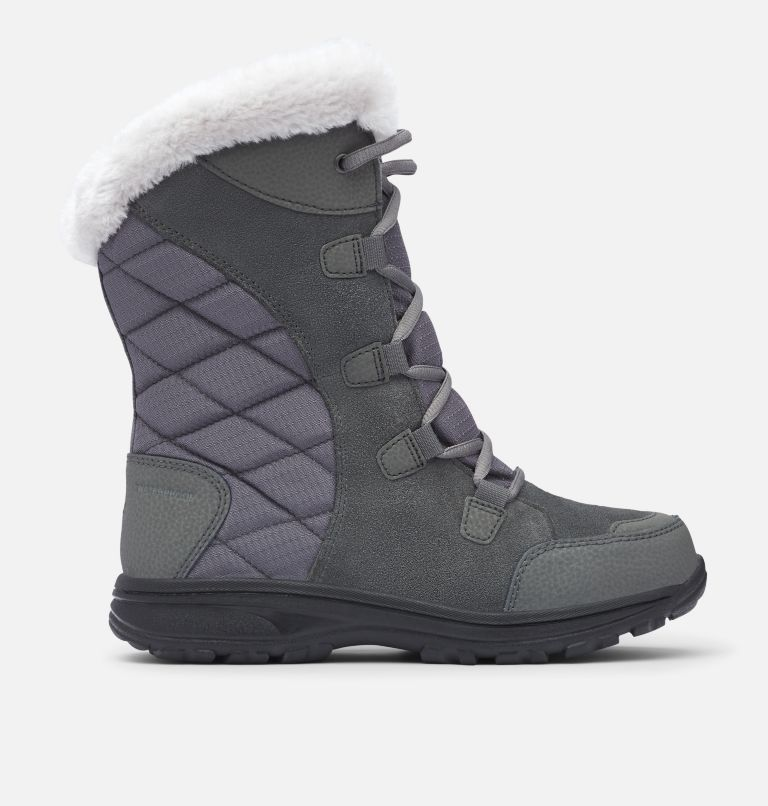 ICE MAIDEN™ II | 051 | 9 Women's Ice Maiden™ II Boot, Shale, Dark Raspberry, front