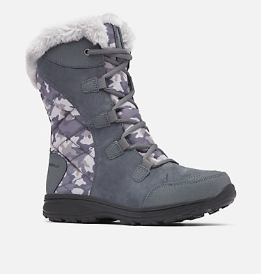 Women's Ice Maiden™ II Boot ICE MAIDEN™ II | 053 | 10, Graphite, Plum Purple, 3/4 front