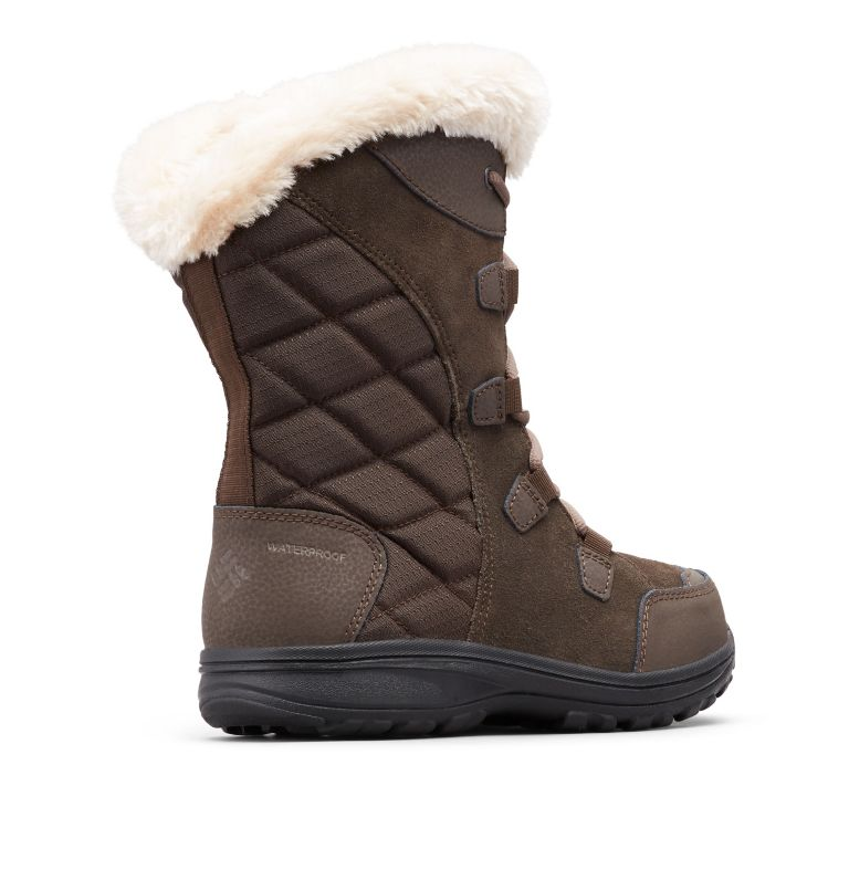 ICE MAIDEN™ II | 232 | 10 Women's Ice Maiden™ II Boot, Cordovan, Siberia, 3/4 back