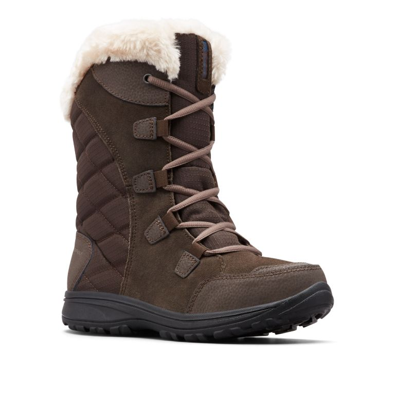 ICE MAIDEN™ II WIDE | 232 | 9 Women's Ice Maiden™ II Boot - Wide, Cordovan, Siberia, 3/4 front