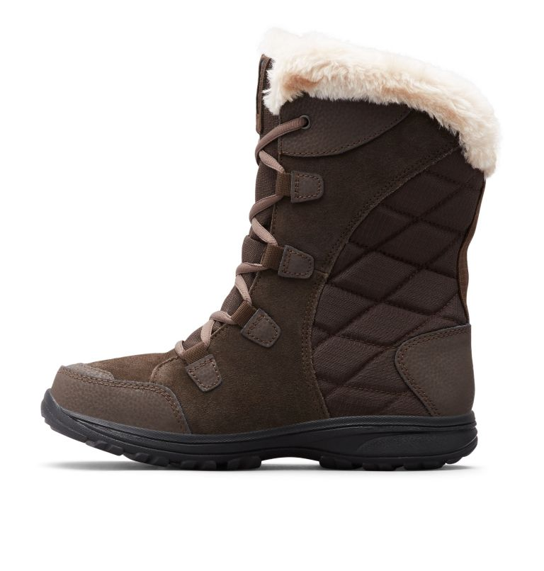 ICE MAIDEN™ II WIDE | 232 | 9 Women's Ice Maiden™ II Boot - Wide, Cordovan, Siberia, medial