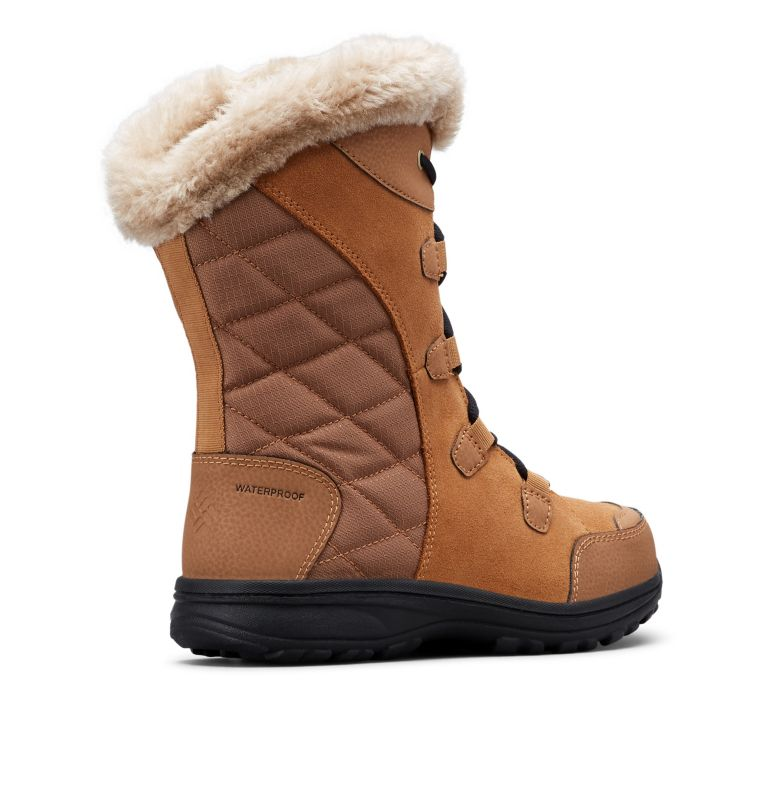 ICE MAIDEN™ II WIDE | 288 | 11 Women's Ice Maiden™ II Boot - Wide, Elk, Black, 3/4 back