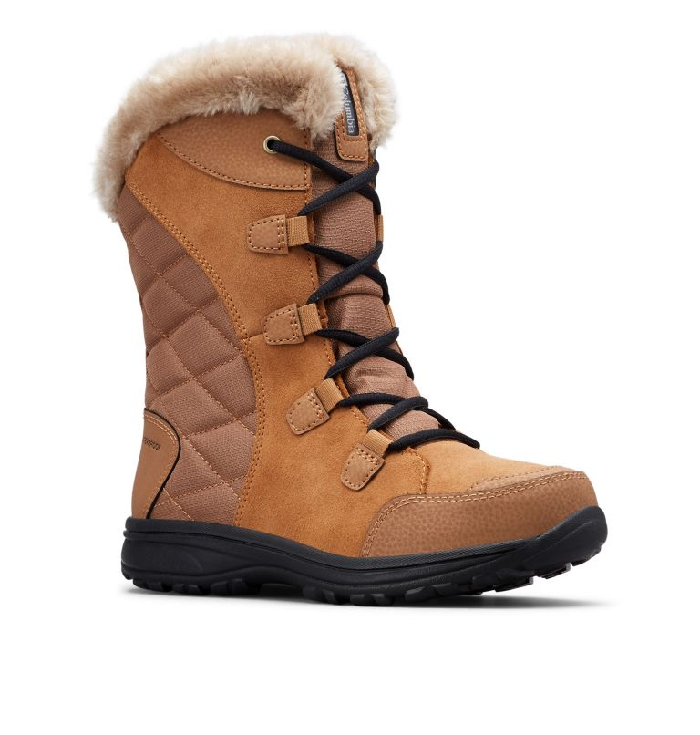 ICE MAIDEN™ II WIDE | 288 | 9.5 Women's Ice Maiden™ II Boot - Wide, Elk, Black, 3/4 front