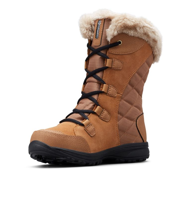 ICE MAIDEN™ II WIDE | 288 | 9.5 Women's Ice Maiden™ II Boot - Wide, Elk, Black