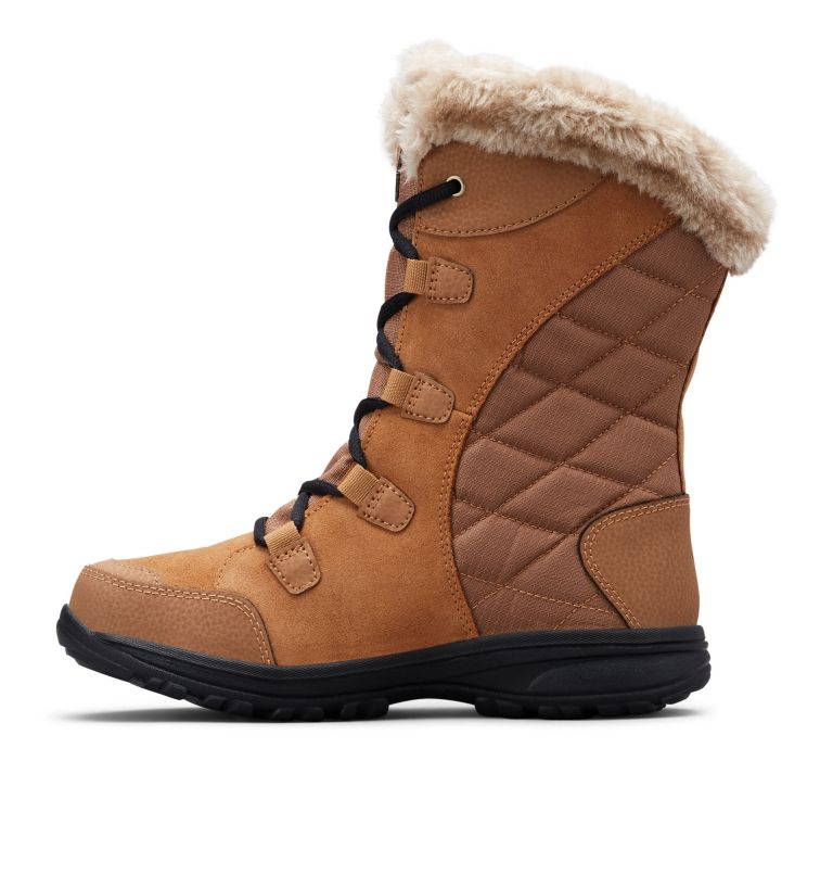 ICE MAIDEN™ II WIDE | 288 | 9.5 Women's Ice Maiden™ II Boot - Wide, Elk, Black, medial