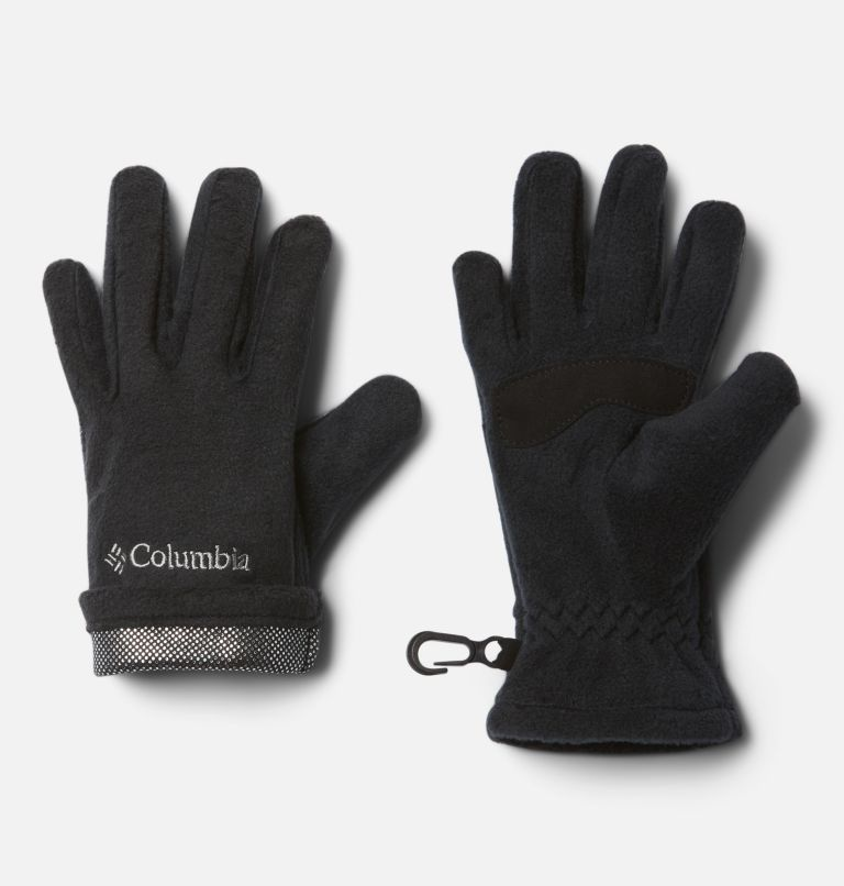 Youth Thermarator™ Glove | 010 | XS Kids' Thermarator™ Omni-Heat™ Fleece Gloves, Black, a1