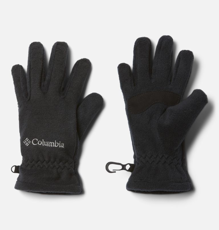 Youth Thermarator™ Glove | 010 | XS Kids' Thermarator™ Omni-Heat™ Fleece Gloves, Black, front