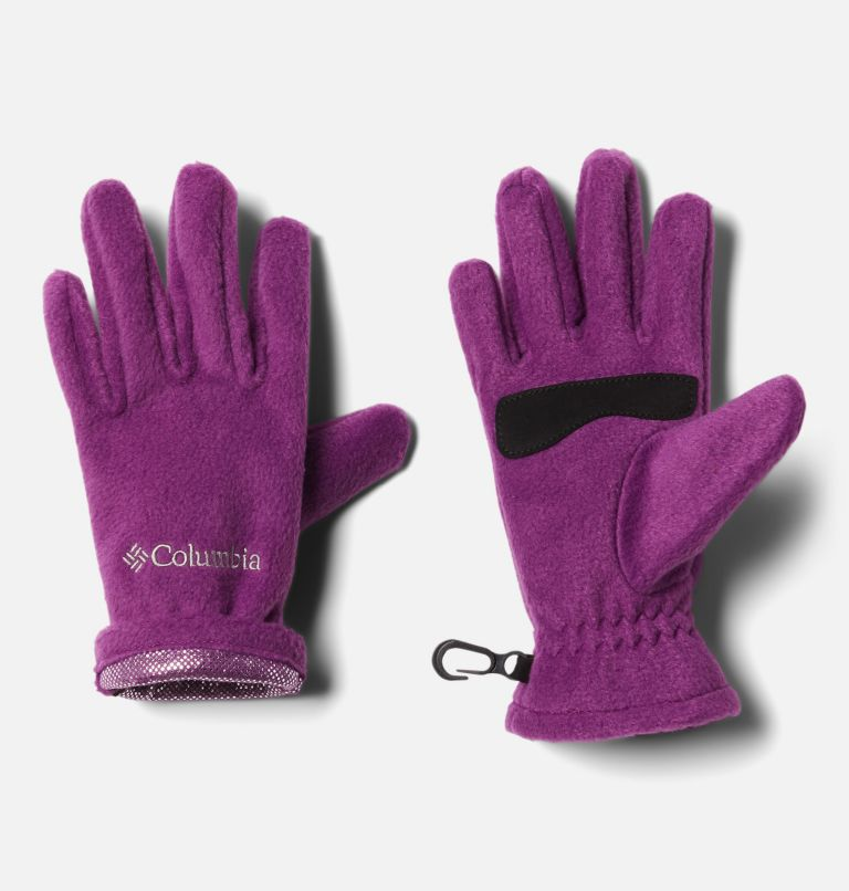 Youth Thermarator™ Glove | 575 | S Kids' Thermarator™ Omni-Heat™ Fleece Gloves, Plum, a1