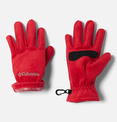 Kids' Thermarator™ Omni-Heat™ Fleece Gloves Youth Thermarator™ Glove | 695 | L, Mountain Red, a1