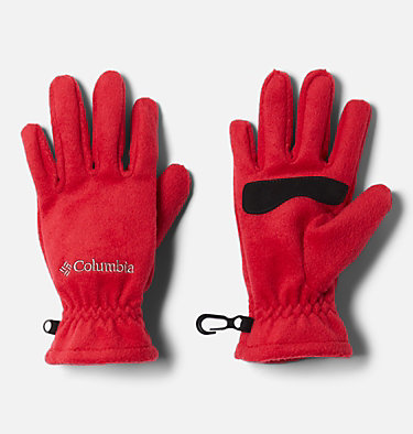 Kids' Thermarator™ Omni-Heat™ Fleece Gloves Youth Thermarator™ Glove | 695 | L, Mountain Red, front