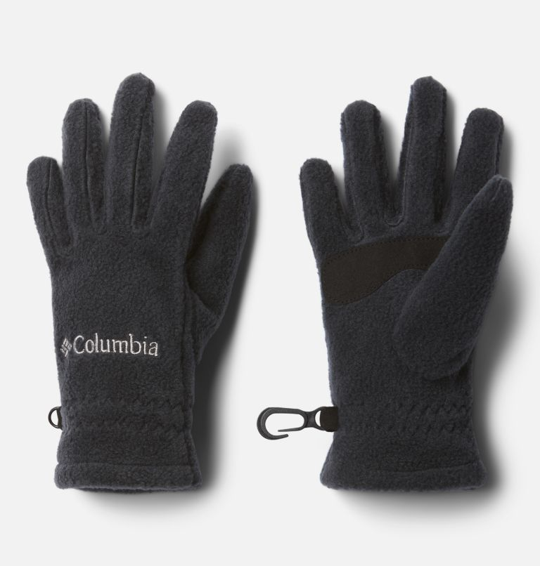 Youth Fast Trek™ Glove | 010 | L Kids' Fast Trek™ Fleece Gloves, Black, front