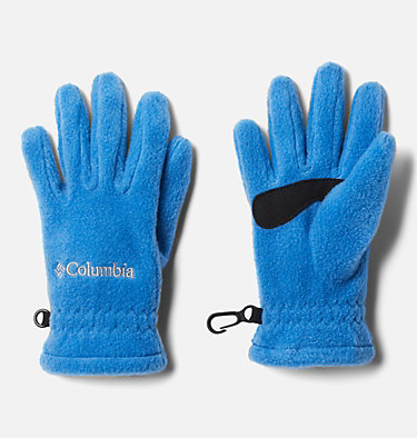 Kids' Fast Trek™ Fleece Gloves Youth Fast Trek™ Glove | 673 | L, Bright Indigo, front