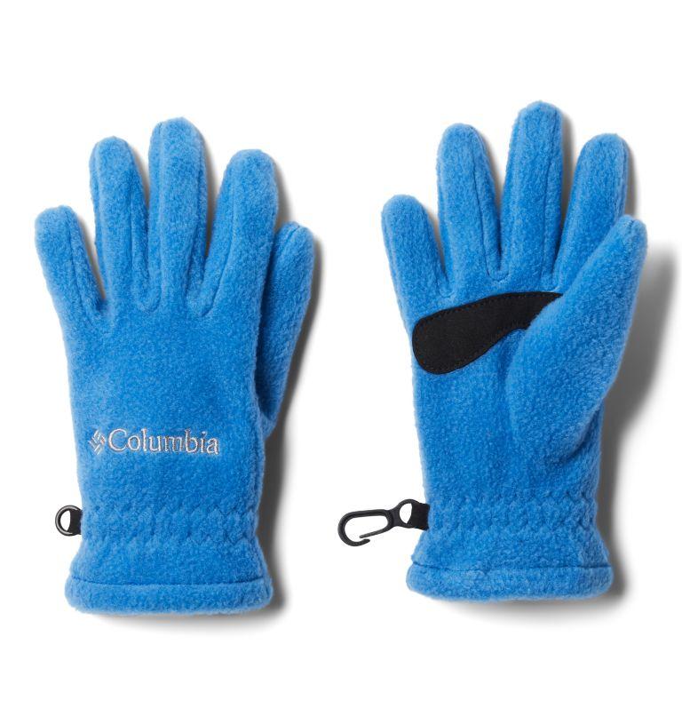 Youth Fast Trek™ Glove | 432 | S Kids' Fast Trek™ Fleece Gloves, Bright Indigo, front