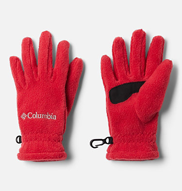 Kids' Fast Trek™ Fleece Gloves Youth Fast Trek™ Glove | 673 | L, Mountain Red, front