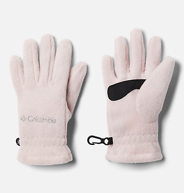 Kids' Fast Trek™ Fleece Gloves Youth Fast Trek™ Glove | 673 | L, Mineral Pink, front