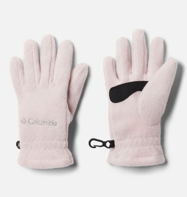 Youth Fast Trek™ Glove   618   S Kids' Fast Trek™ Fleece Gloves, Mineral Pink, front