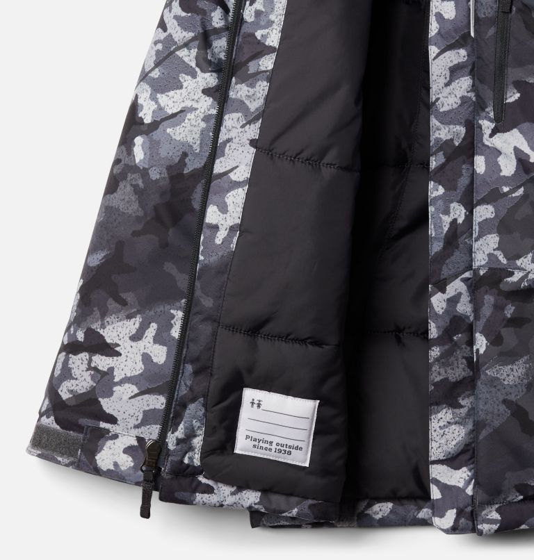 Lightning Lift™ Jacket | 024 | XXS Boys' Lightning Lift™ Jacket, Shark Brushed Camo Print, a1
